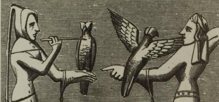 Historie sokolnictví